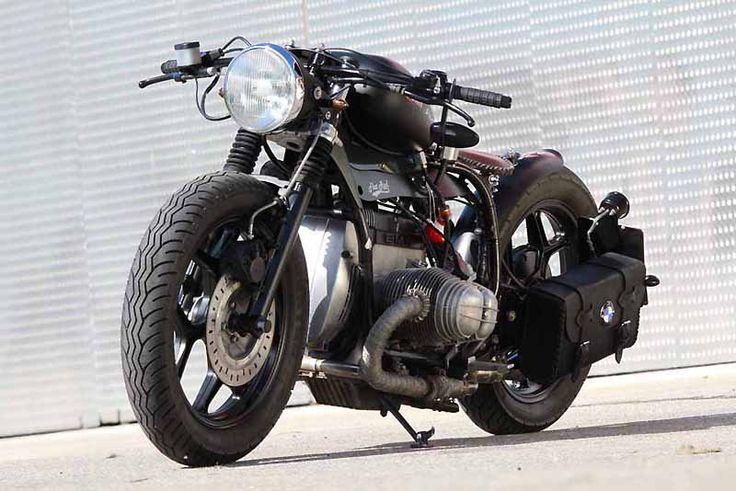 Choppertrip ®: BMW R Bobber, Flat Rod ... The Beast