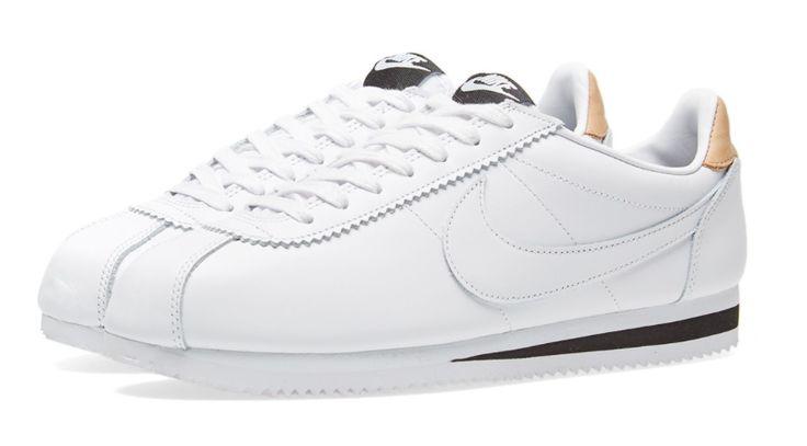 White Heat: Nike Classic Cortez Leather SE Sneakers