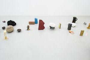 Installation view from exhibition Kälen