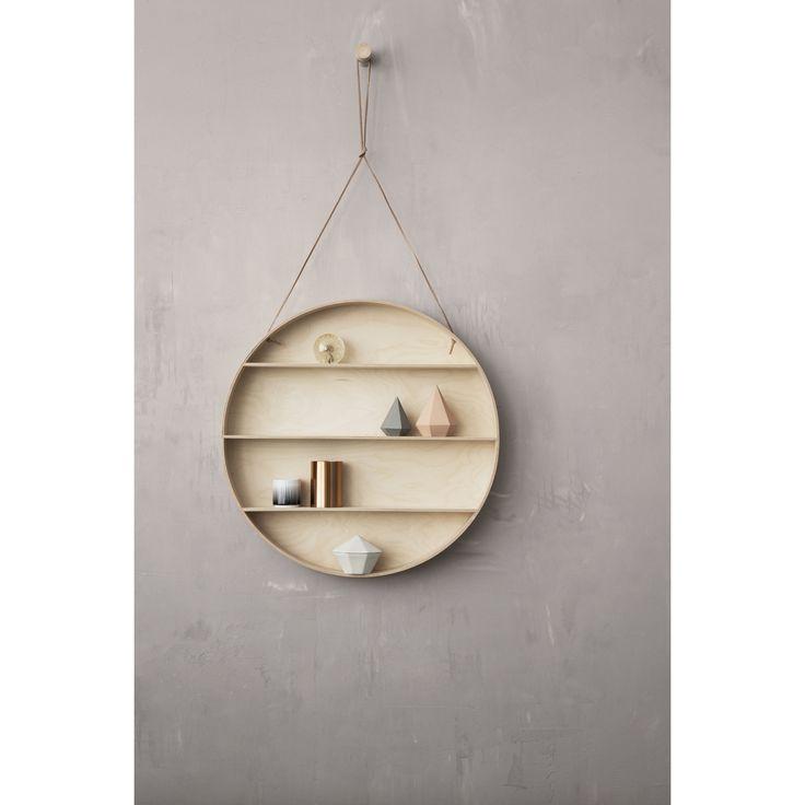The Round Dorm hylla – Ferm Living – Köp online på Rum21.se