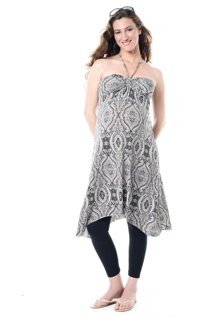 The cute Annabella Hanky Dress looks gorgeous while pregnant and for long afterwards! It definitely won't be packed in a suitcase after baby comes!!  http://annabellamaternity.co.za/shop/product/halter-neck-hanky-dress/