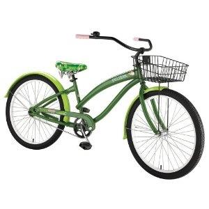 Nirve Paul Frank single speed cruiser bike - in green or orange please, thank you!