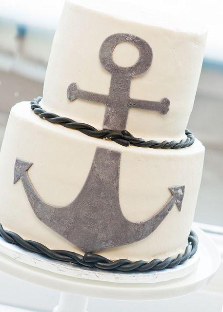 Great anchor cake: Anchors Aweigh, Nautical Birthday Parties, Nautical Wedding Cakes, Anchor Cakes, Birthday Parties Ideas, Anchors Cakes Ideas, Birthday Party Ideas, Birthday Ideas, Birthday Cakes