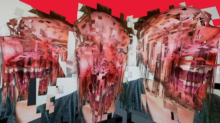 self portrait / glitch obj