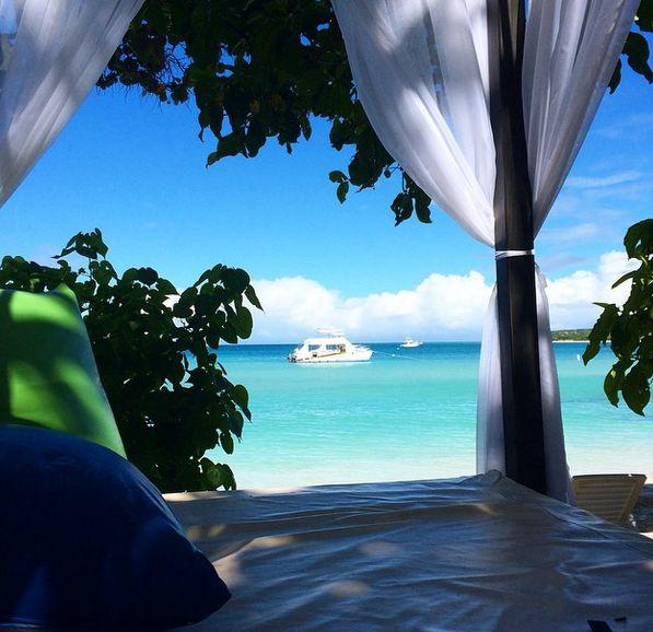 Ser det her ikke skønt ud? Her kan man ligge en hel dag og nyde tilværelsen! www.apollorejser.dk/rejser/nord-og-central-amerika/den-dominikanske-republik