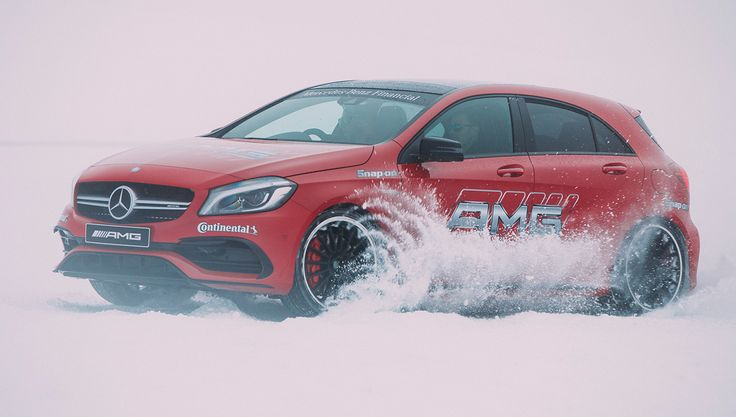 Drive Mercedes-AMG Cars Across Ice and Snow in New Zealand