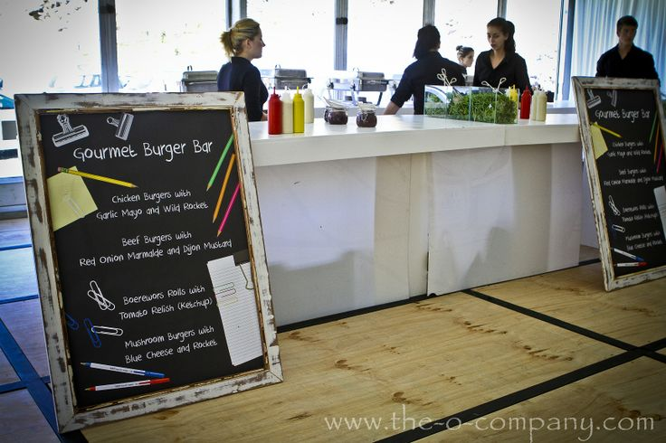 Back to school themed function