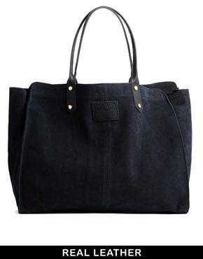 Jack Wills Sueded Tote Bag ASOS