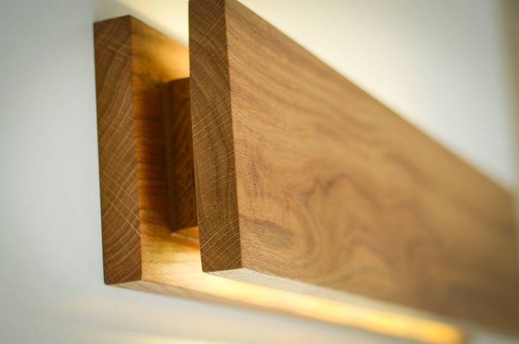 wall lamp SC#284 handmade. oak. sconce. wooden sconce. wood lamp. wood sconce. wooden lamp. wooden light. minimalist lamp. bedroom lamp
