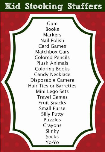 Stocking Stuffer Ideas for Toddlers, Kids, Teens, Adults