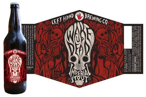 modbeer: Hands Brewing, Dead Imperial, Imperial Stout, Hands Wake, Wake Up, Beer Labels, Beer Design, Left Hands, Barrelag Wake