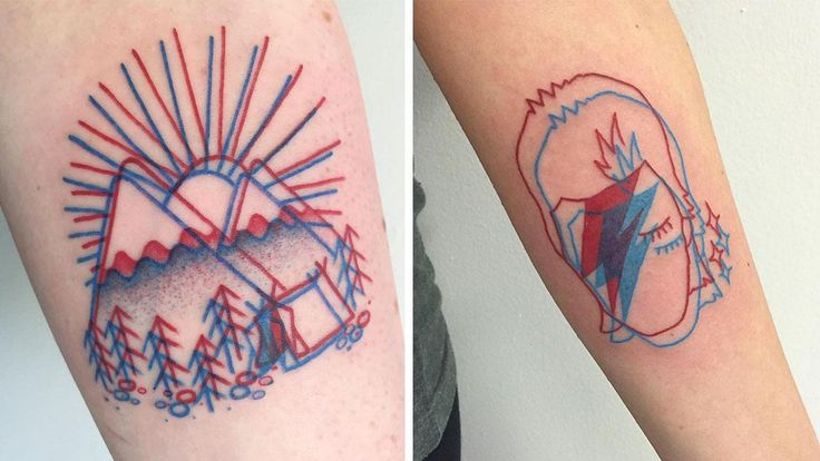 3D Tattoos Are The Psychadelic New Trend Taking Over The Internet | So Bad So Good