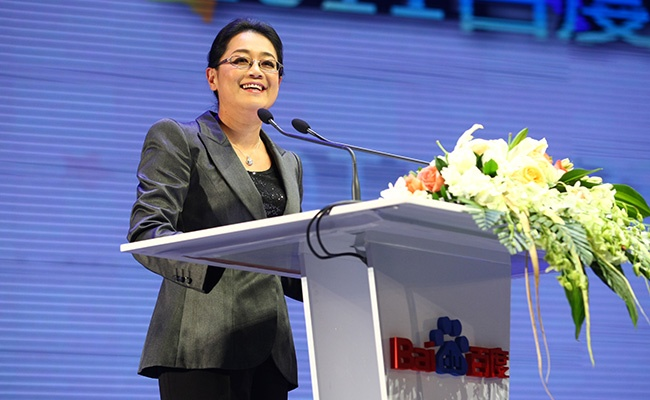 Rank 98. Jennifer Li, 45 - CFO, Baidu, China