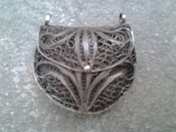 A+Beautiful+Silver+Filigree+Purse+from+Orissa+India.+by+Lallibhai,+£25.00