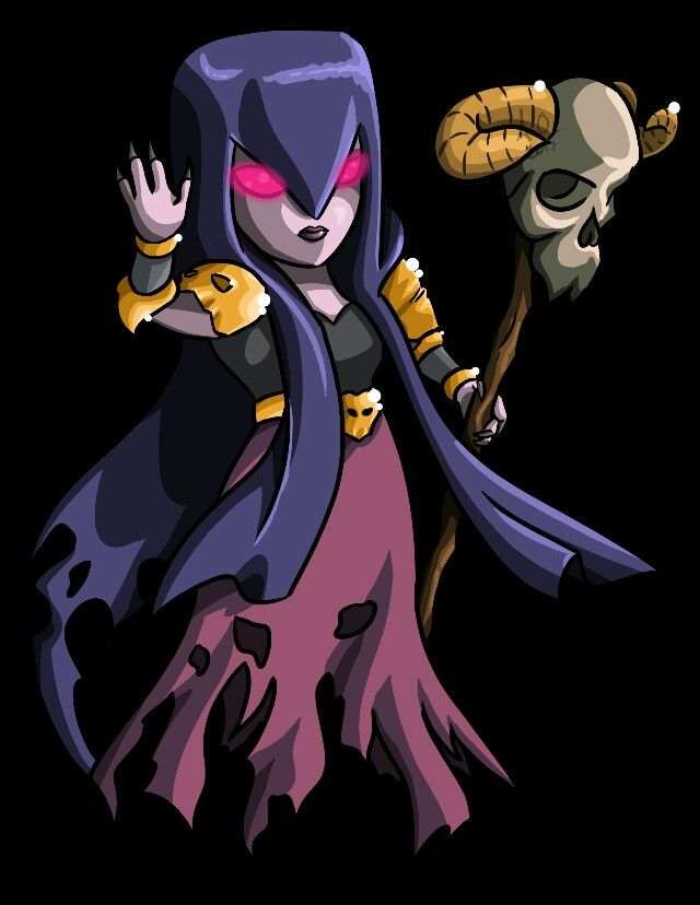 Clash of Clans - Witch | Clash Of Clans | Pinterest ...