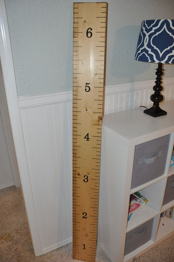 Keepsake Rulers ***(Double lines)*** 5500 Sold! Life-size growth chart rulers for measuring kids' height!