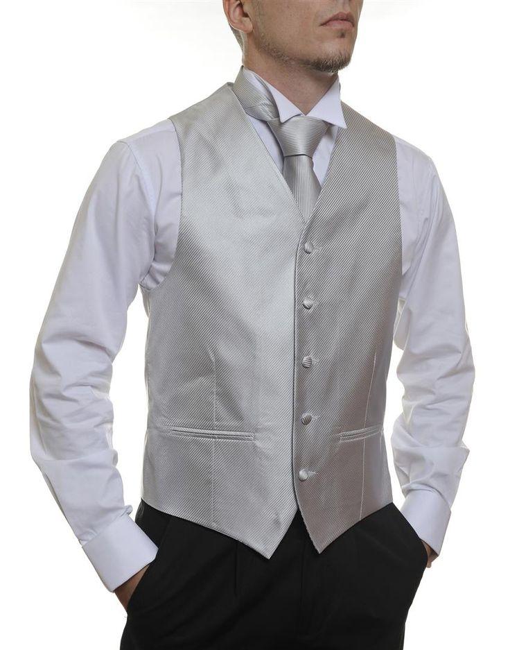 Silver Stripe #Australia made #AU #Groom #Dinner #Vest #Fashion #Clothing #Beautiful #Wedding