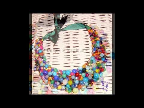 Rainbow collection - Statement necklaces - video p...
