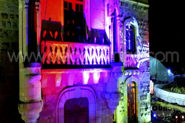 Iluminacion para eventos en Bogotá