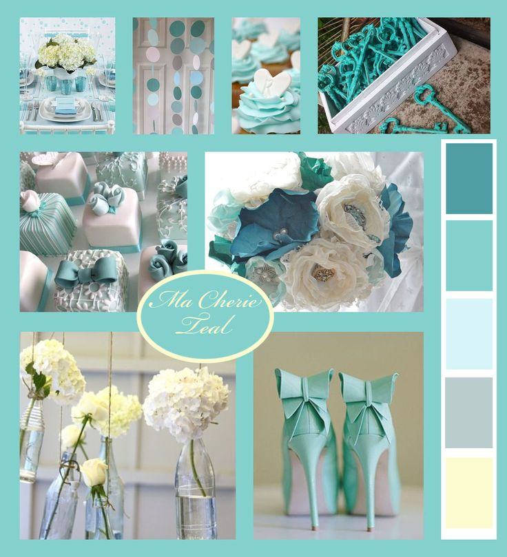 Teal love for summer