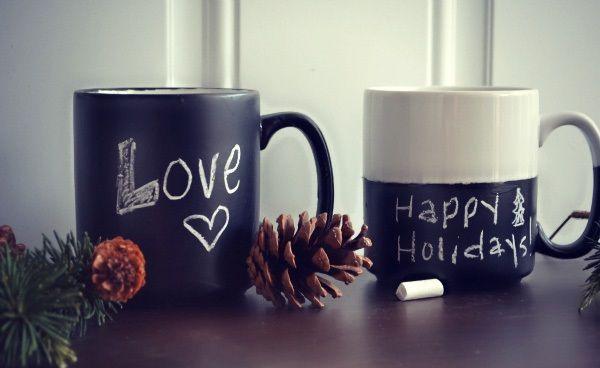 Idea regalo per #SanValentino la tazza effetto #lavagna