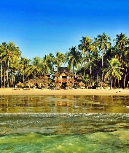 Ngapali Beach | This white-sand retreat on the Bay of Bengal is lined with swaying palm trees, and a growing number of hotels have popped up along the 15 miles of coastline. Still, this stretch of sand keeps its laid-back fishing village vibes and is often named one of the best beaches in the country.