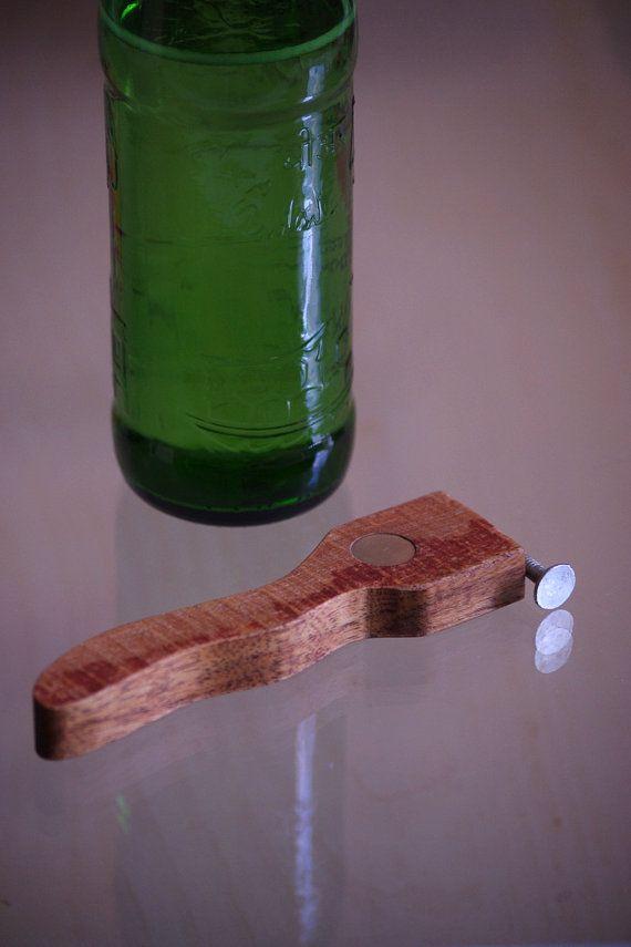 Gift for him wooden bottle opener gift for by WoodMetamorphosisUK