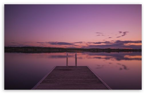 Purple Sunset Hd Wallpaper For 4k Uhd Widescreen Desktop Smartphone Purple Sunset Landscape Wallpaper Desktop Wallpaper