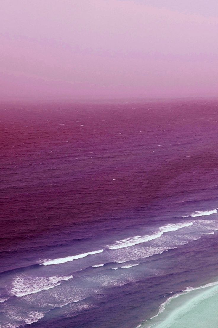 Inspiration, Shades Of Purple, Waves, Summer Beach, Pink Sea, Colors Palettes, Colors Schemes, Pink Water, Photography