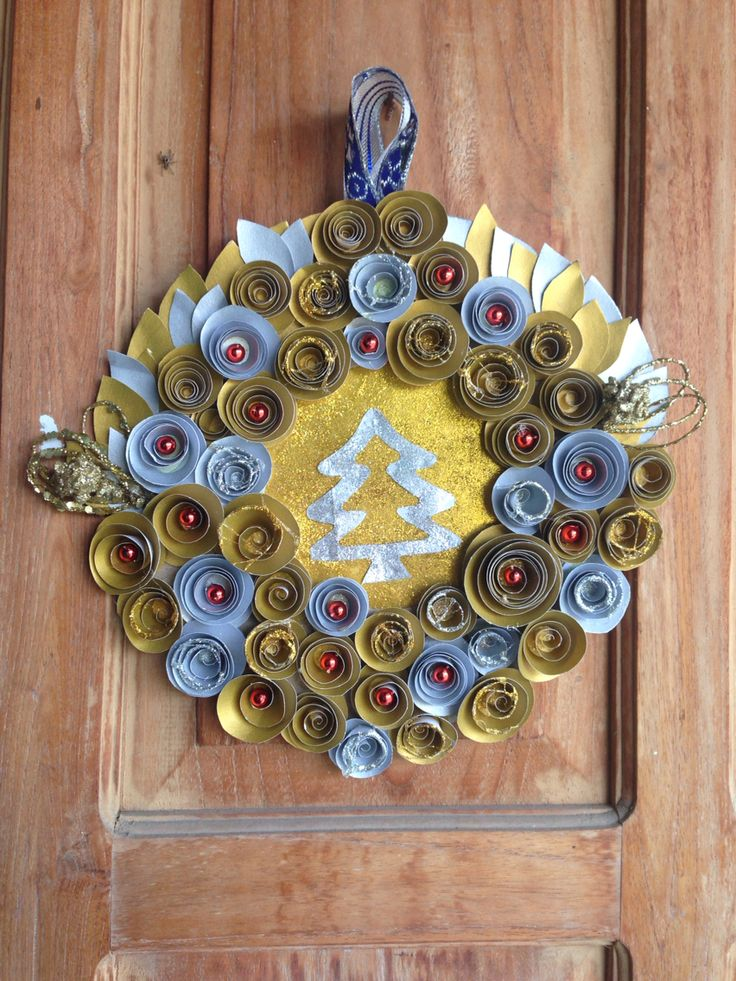 Wreath Christmas, do it by yourself and enjoy the challenge