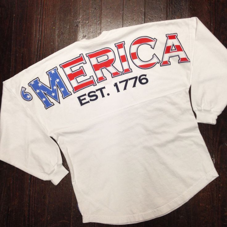 American Flag 'Merica Spirit Jersey