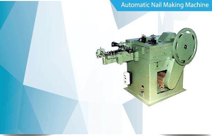 Manufacturers, Suppliers & Exporters of Wire Nail Machine, Nail Making Machine, Wire Nail Making Machine, Nail Machine, Wire Nail Machine Price, Common Nail Making Machine, Concrete Nail Making Machine, Coil Nail Making Plant, Roofing Nail Making Machine, Nail Machine, Wire Drawing Machine, Polishing Drum & Cutting Grinder in Rajkot India