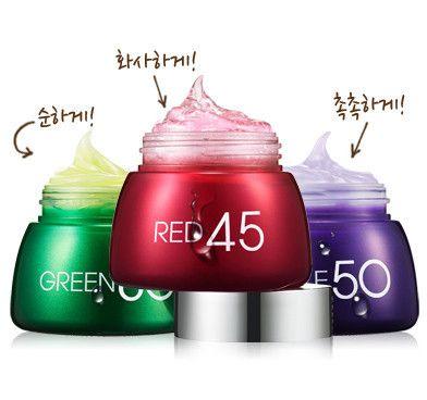 Skin care products purple mizon 50 cream anti-wrinkle elastic