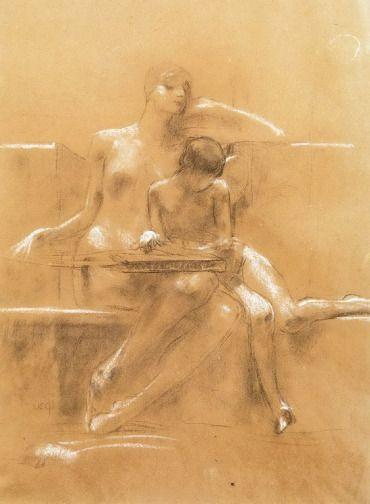 .:. Γύζης Νικόλαος – Gyzis Nikolaos [1842-1901] Σχέδιο για αφίσα
