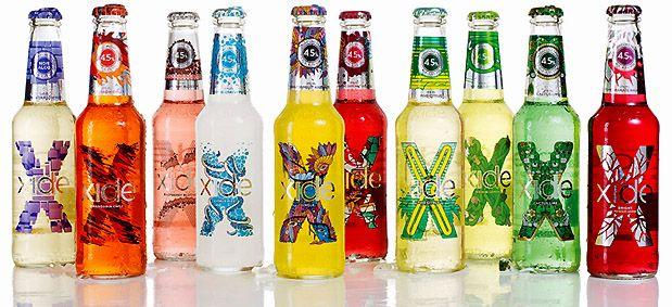 Carlsbergs Xide - label design by NINE Design