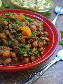 Slow Cooker Moroccan Lamb Tagine Recipe