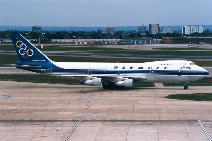 Olympic Airways, Boeing 747-200, SX-OAE, London Heathrow