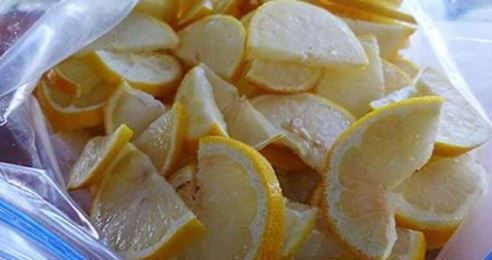 Croyez-le ou non, utilisez des citrons surgelés et dites au revoir au diabète, aux tumeurs, à l'obésité!