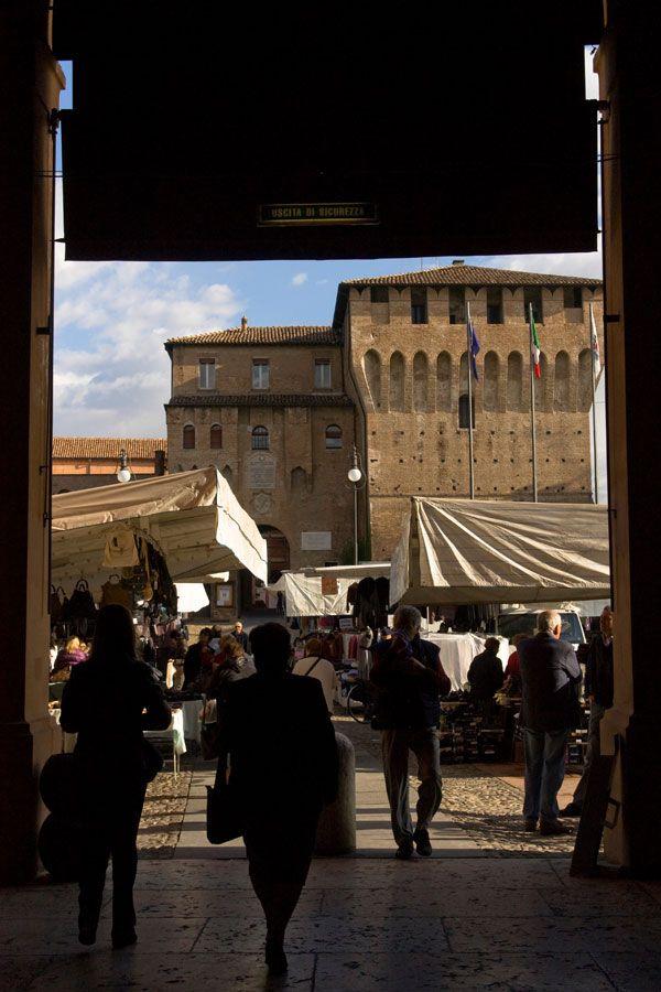 Il mercato del mercoledì di #Lugo di #Romagna