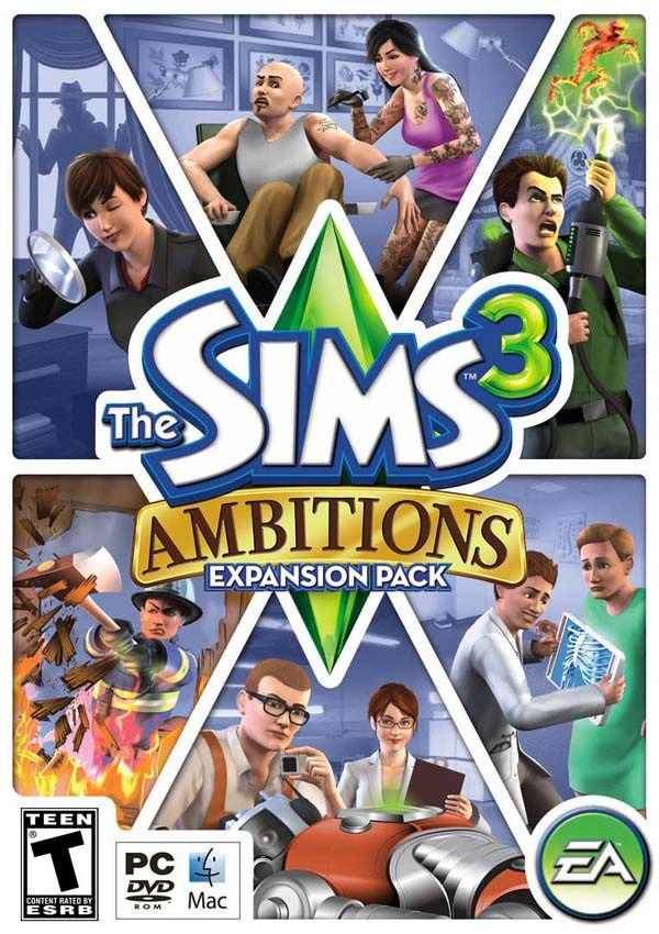 The Sims 3: Ambitions Free Download - GameMaza Download
