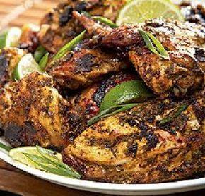 Ricetta Jerk jamaicano di pollo