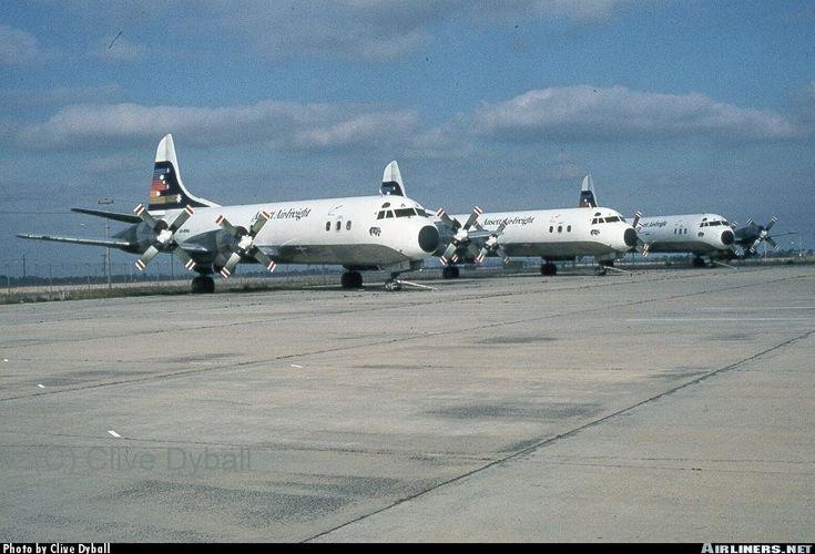 Ansett Air Freight Lockheed L-188A(F) Electra Melbourne - Tullamarine (MEL / YMML) Australia - Victoria, April 29, 1984