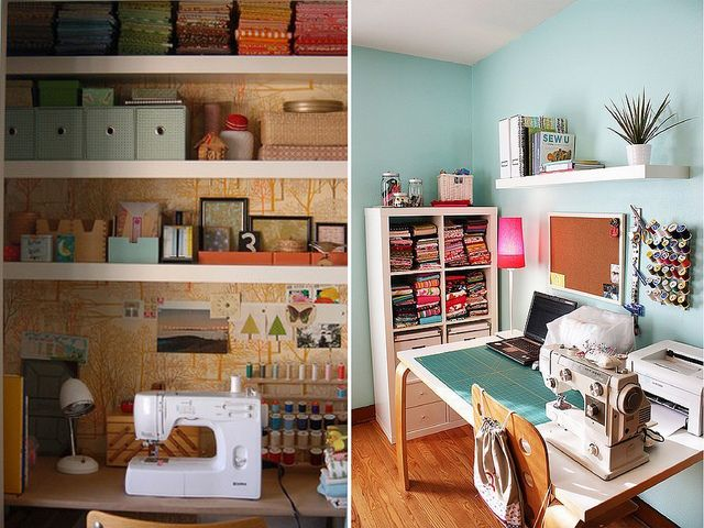 : Sewing Offices, Sewing Area, Sewing Studios, Crafts Rooms, Crafts Spaces, Sewing Nooks, Sewing Spaces, Sewing Rooms, Sewing Closet