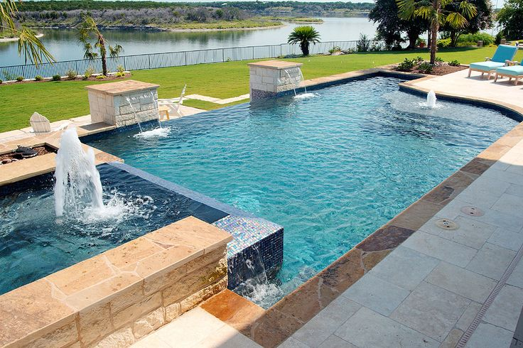 14 Best Geometric Pools Images On Pinterest Geometric Pools Spa And Backyard