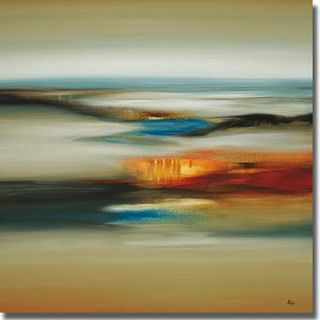 Lisa Ridgers 'Calm Scape' Canvas Art   Overstock™ Shopping - Top Rated Canvas