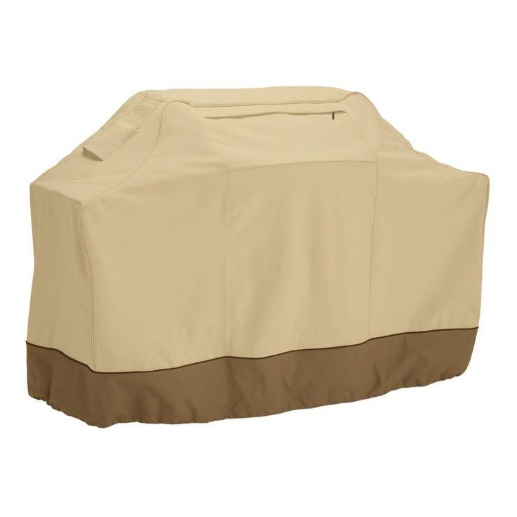 The Veranda Grill Cover by Classic Accessories will keep your cart style BBQ or smoker protected from elements. #barbecue #patio #bbq #grilling #storage #outdoorliving