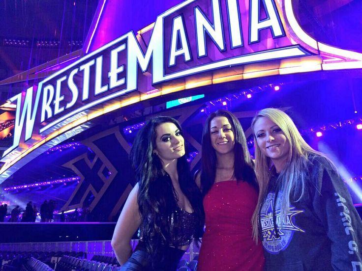 Paige, Bayley & Emma WWE Divas