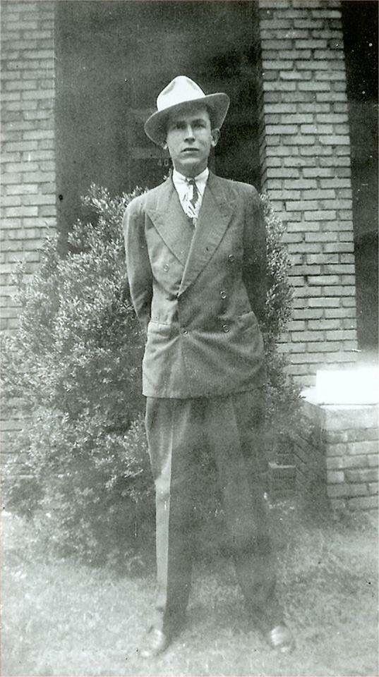 Hank Williams in Montgomery, Alabama.