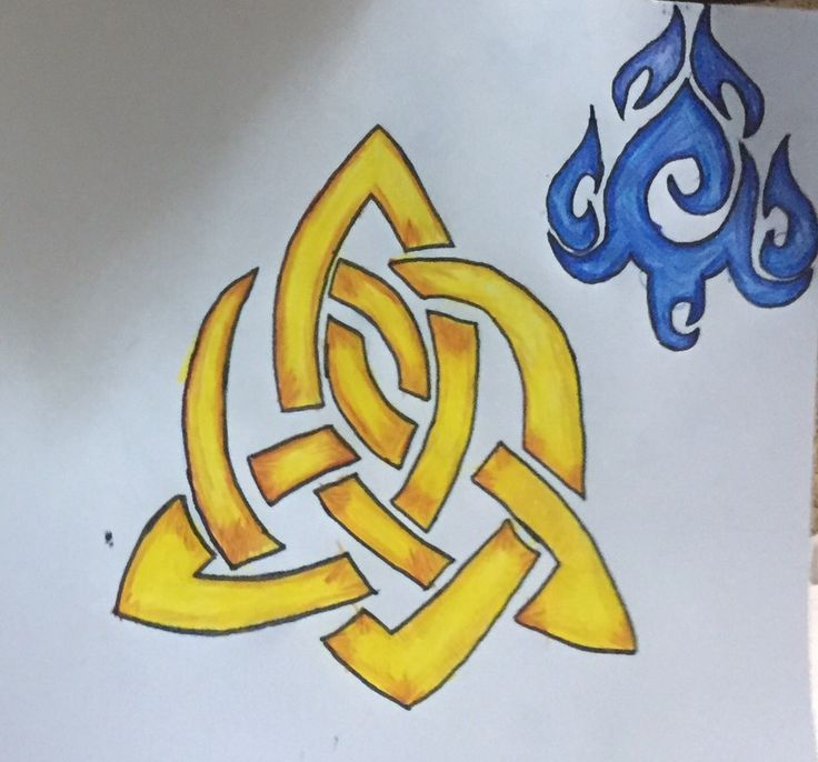 My babys latest art work :) into tribal designs and taught her shading today