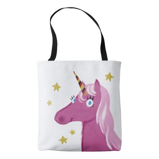 Magic Horses bag pink Tote Bag